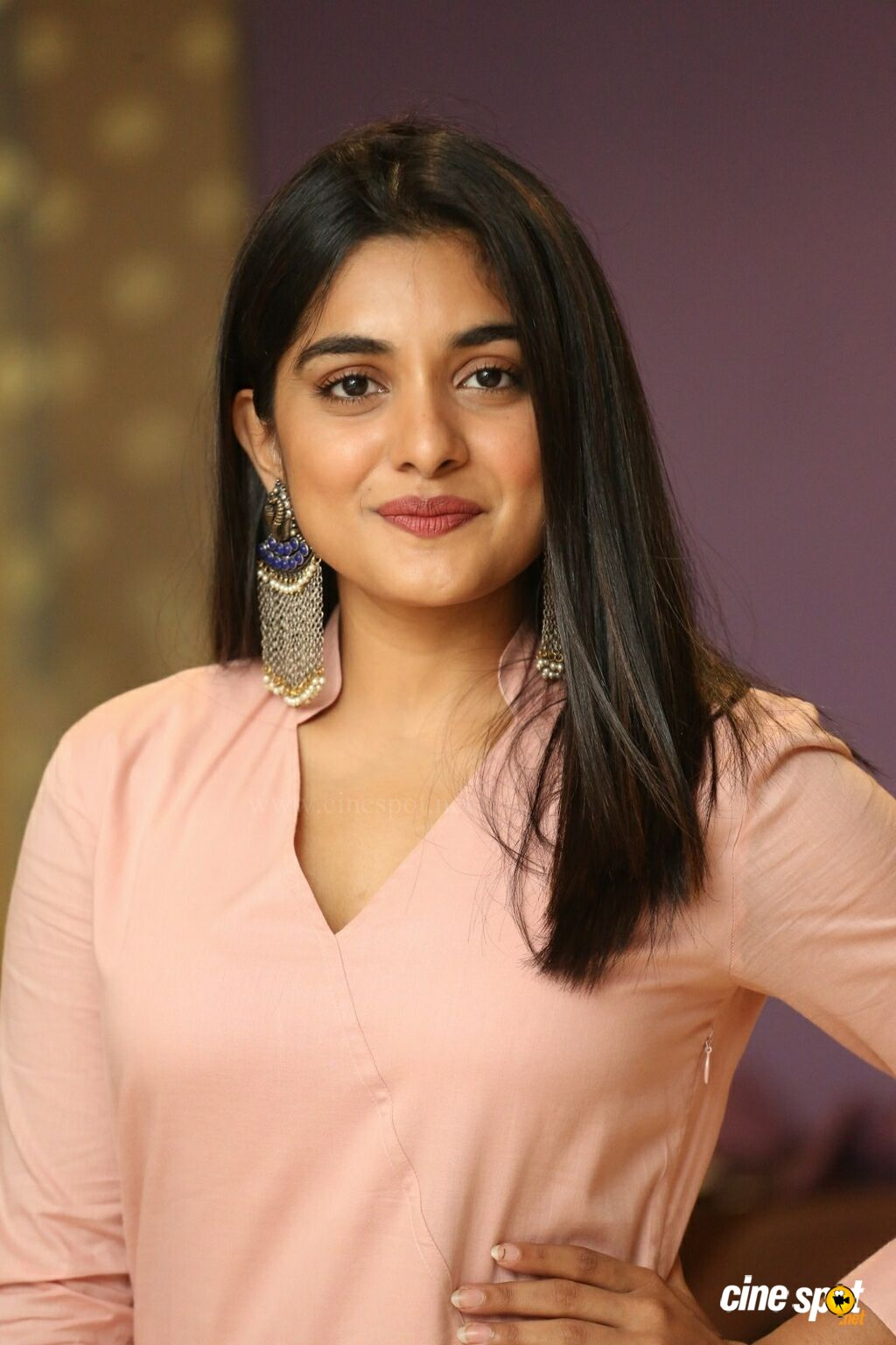 Nivetha Thomas at Brochevarevarura Success Meet (14)