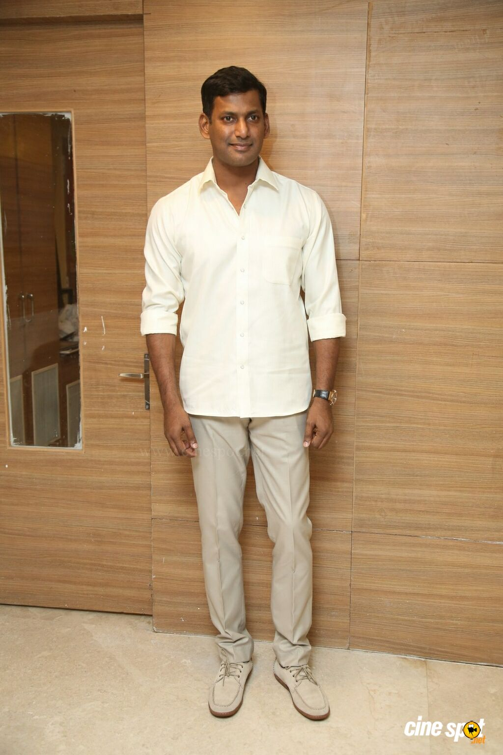 Vishal at Action Movie Pre Release Event (2)