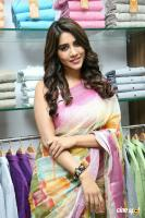 Nabha Natesh Inaugurated Linen House At Nizampet (1)