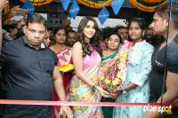 Nabha Natesh Inaugurated Linen House At Nizampet (8)