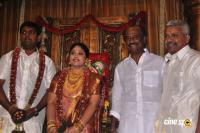 4 frames Kalyanam's Son Satheesh & Anjali Marriage Photos
