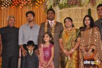 4 Frames Kalyanam's Son Satheesh & Anjali Reception Photos